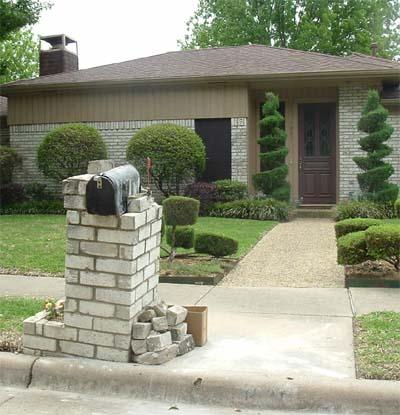 Lomins: Diy brick mailbox plans